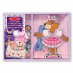 Dress up lacing bear set